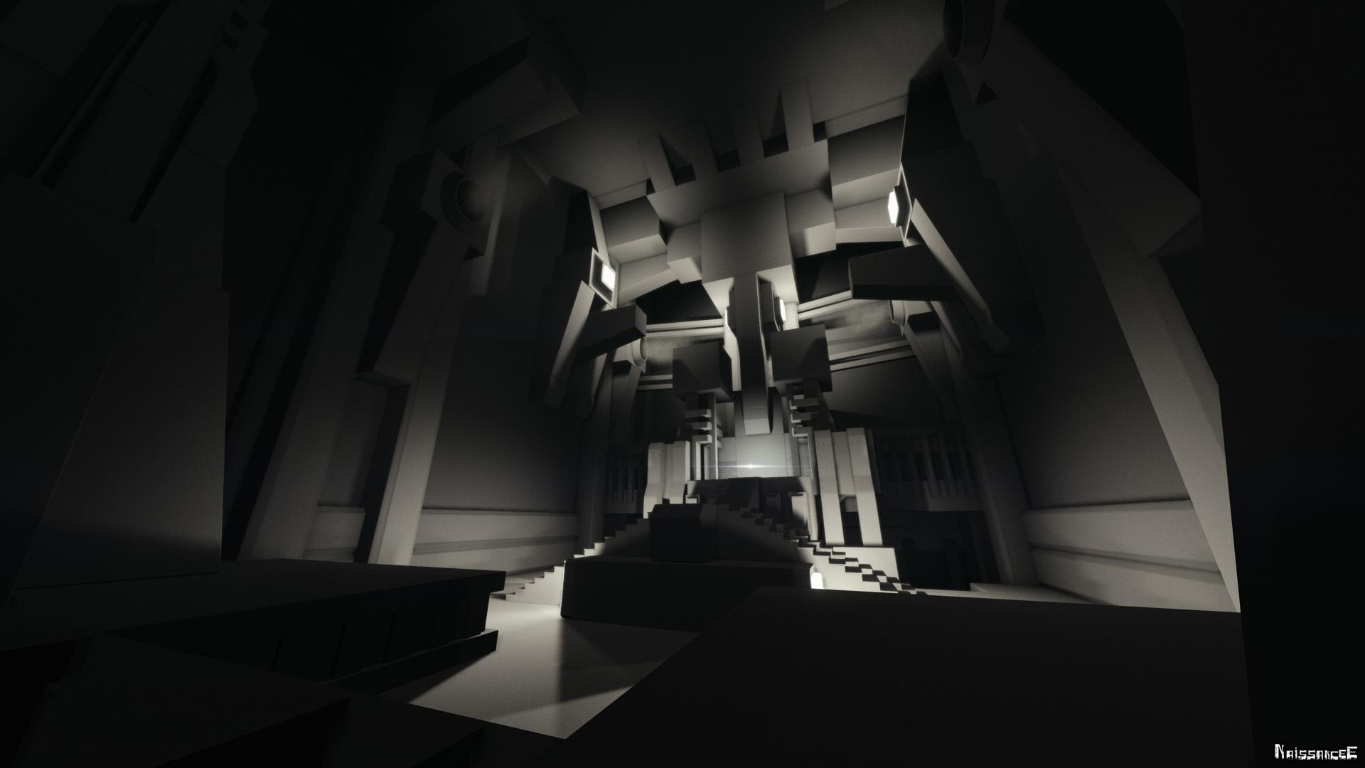 カオス化し無限に広がる超構造体と 幻想的で狂気的な精神世界を彷徨う